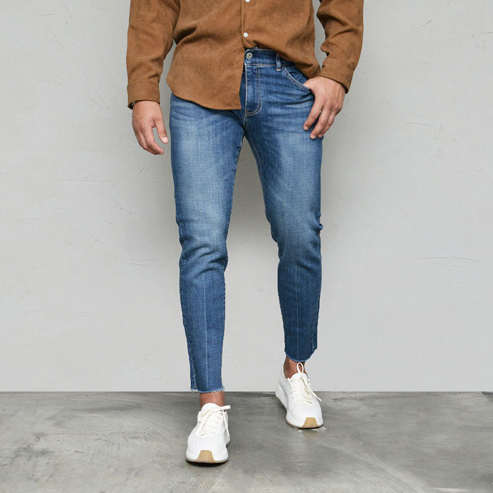 Amazing Slim Line Stretchy Ankle-Jeans 580