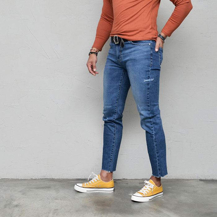 Vintage Killer Slim Banding Ankle-Jeans 584