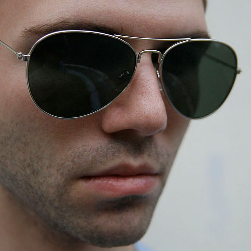 Classic Military Aviator Sunglasses