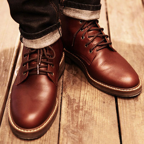 Hand-crafted Cowhide Welted Boots