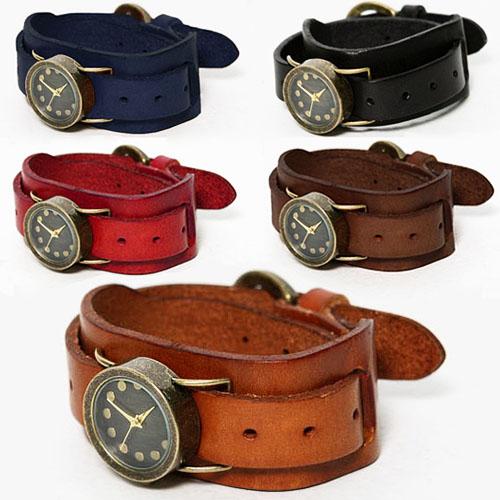 Leather Dual Strap Cuffs Watch-Watch 30