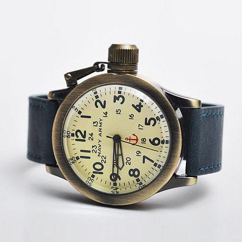 Vintage Brass Diver Frame Watch-Watch 32