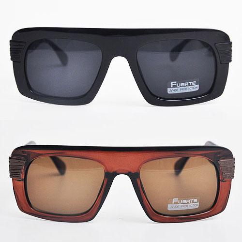 Masculine Chic Bold Frame-Sunglasses 21