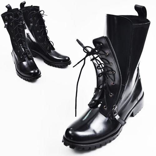 Runway Design Zippered Boots-Shoes 140