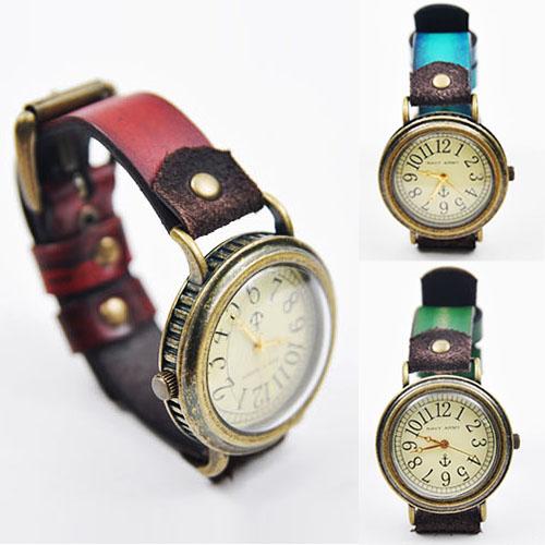 Euro-chic Antique Brass Frame -Watch 43