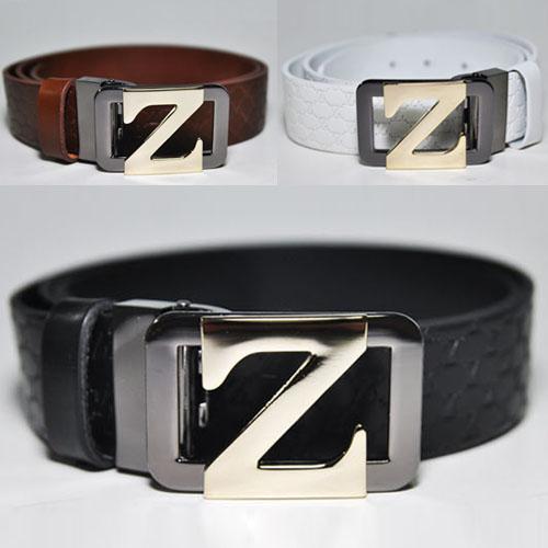 Big Gold Signature Z Buckle Dress-Belt 73