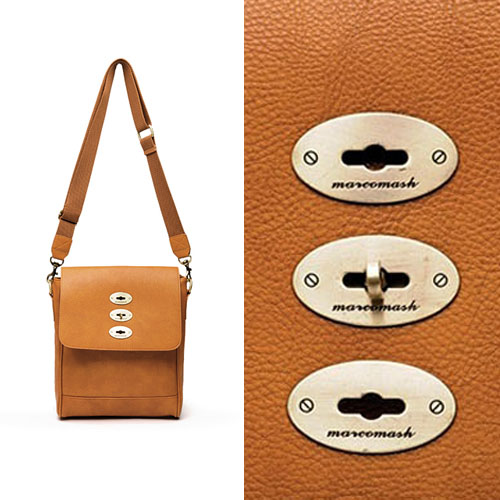 Uber-chic Compact Square Cross-Bag 106