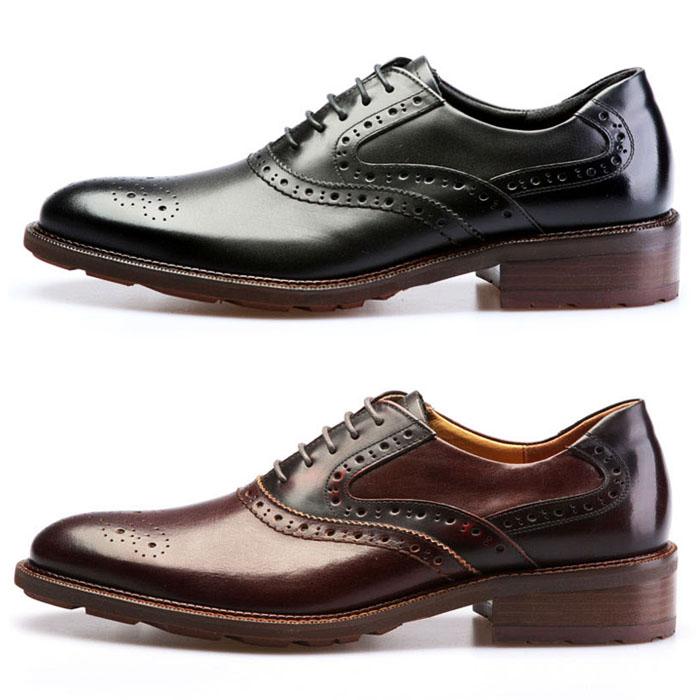 Gradation Toe Custom Wingtip Oxford-Shoes 208