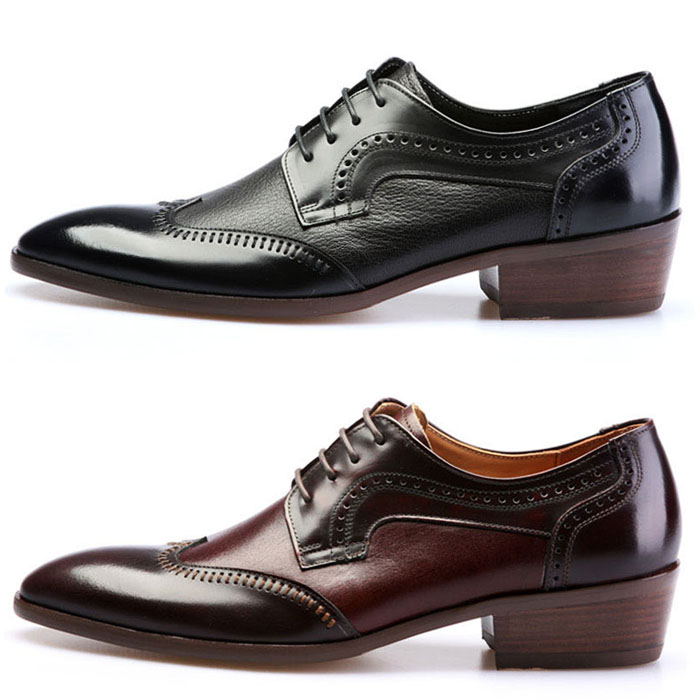 Dandy Custom Contrast Punching Oxford-Shoes 209