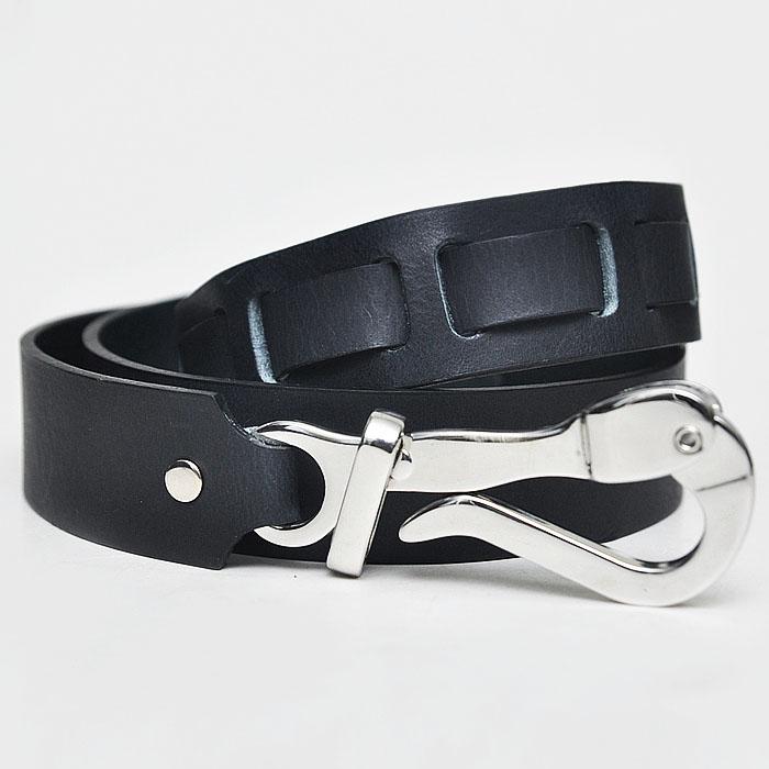 European Elegance Pelican Silver Hook-Belt 92