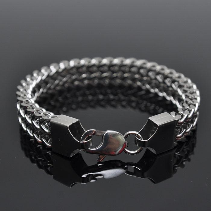Minimal Lux Stainless Steel Chain-Bracelet 142
