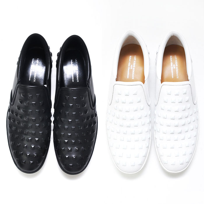 Hand-made 170 Stud Cushiony Slip On-Shoes 286