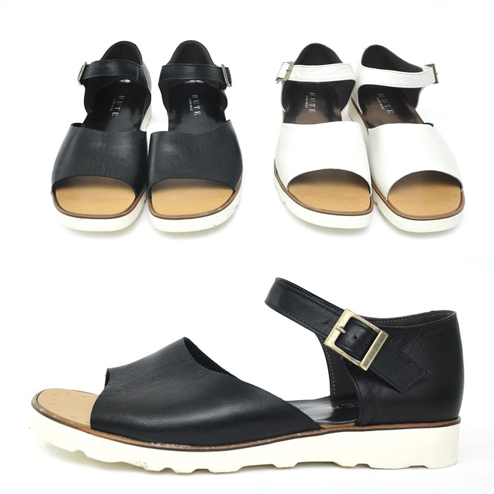 Custom Cowhide Buckle Sandal-Shoes 287