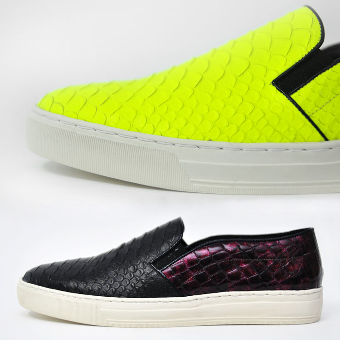 Glamorous Crocodile Slipon Custom Loafer-Shoes 301