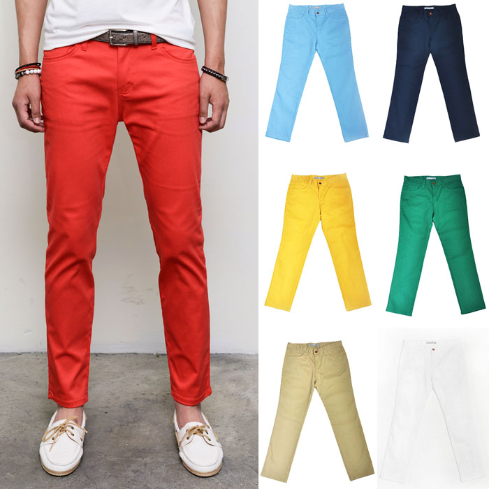 Summer Special Ankle Length Slim Chino-Pants 132