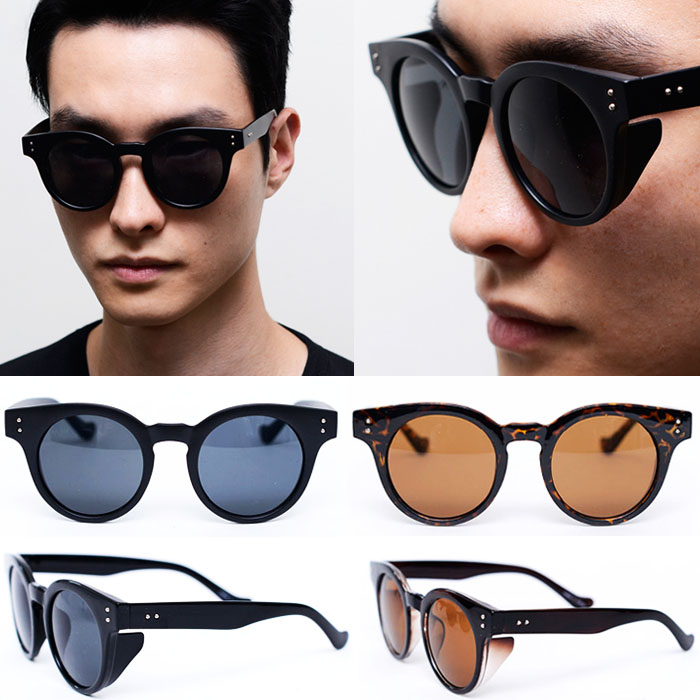 Parisian Round Eye-catcher-Sunglasses 64
