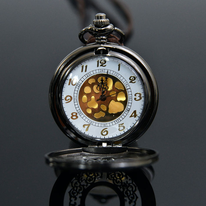 Romantic Long Locket Watch-Necklace 183
