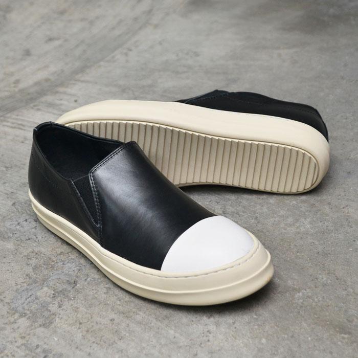 Contrast Toe Designer Slip On-Shoes 439
