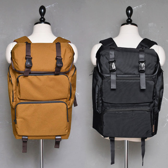 Multi Cargo Canvas Backpack-Bag 167