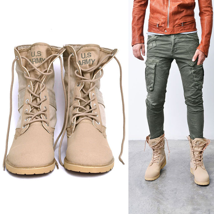 US Army Print Desert Boots-Shoes 484