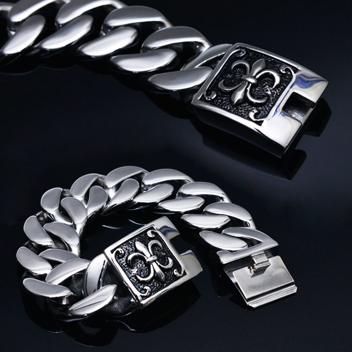 Stainless Steel Big Chain Spear-Bracelet 260