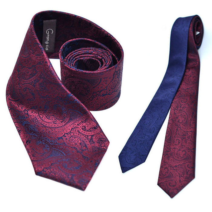 Lux & Fashionable Paisely Dress-Tie 49