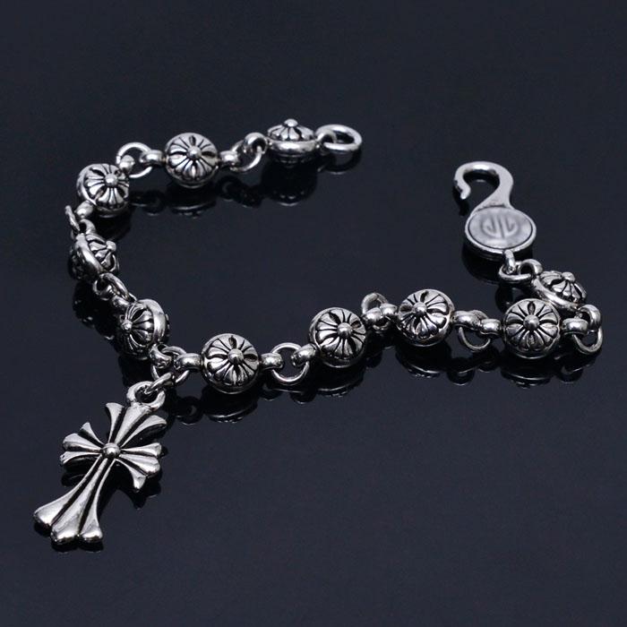 Baroque Cross Sunflower Hook Cuff-Bracelet 271