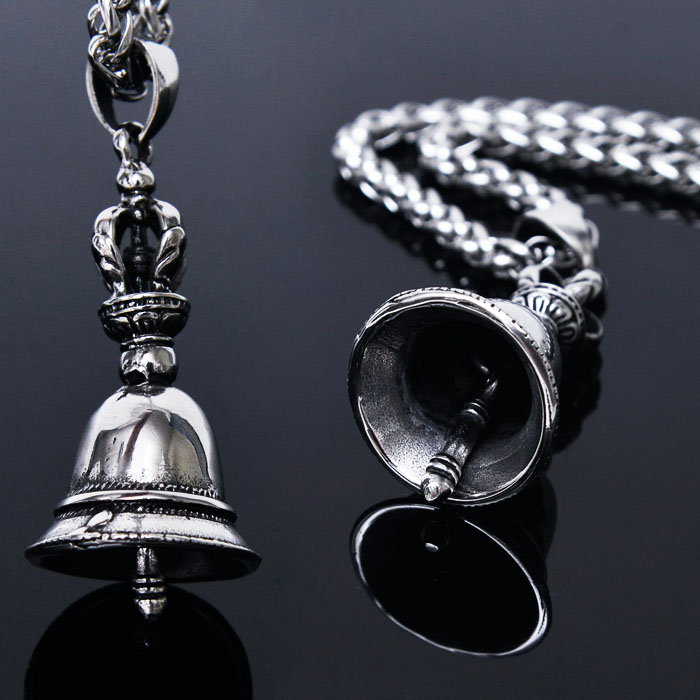 Full Steel Francis Ringing Bell-Necklace 247