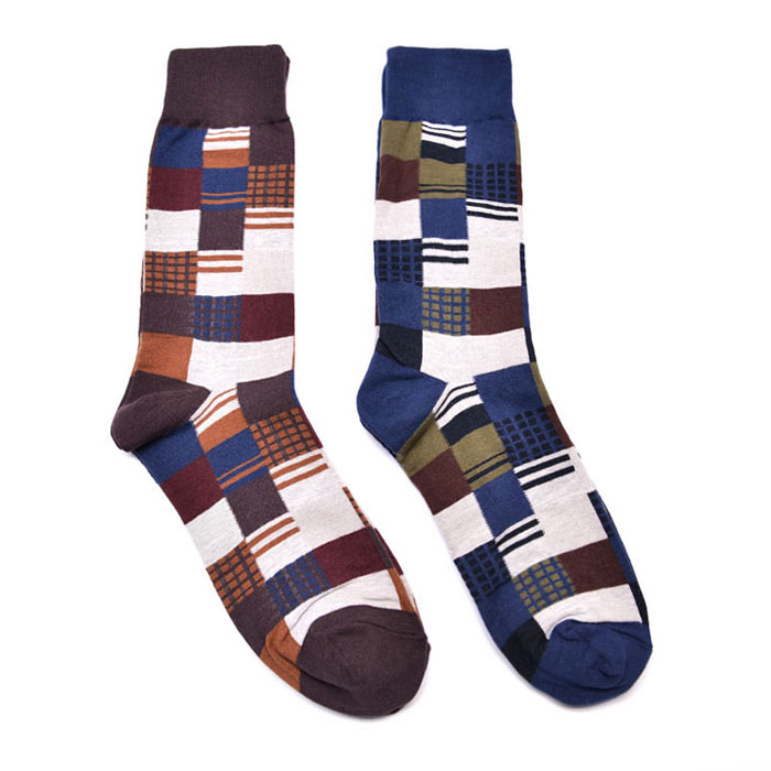 Unique Mix Graphic Socks-Gadget 59