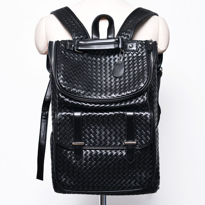 Lux Classic Look Braided Backpack-Bag 176