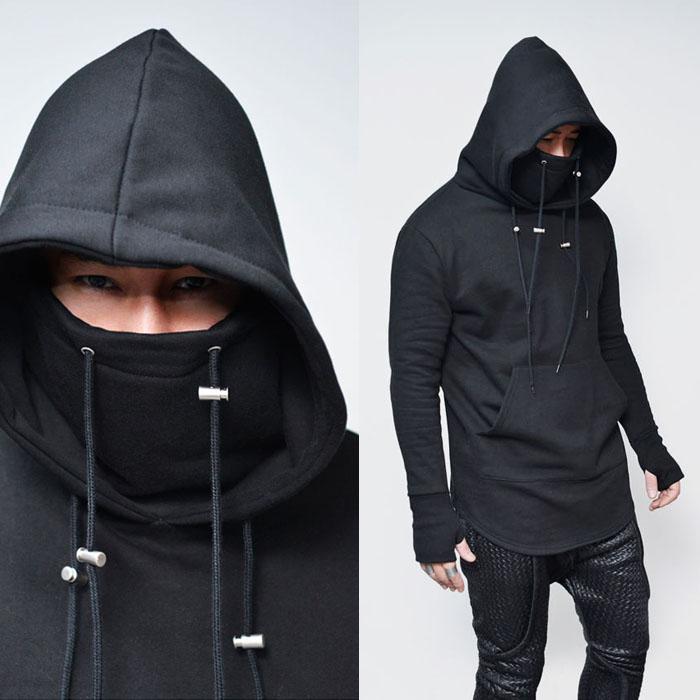 Ninja Turtle Armwarmer Fleece Hood-Hoodie 160