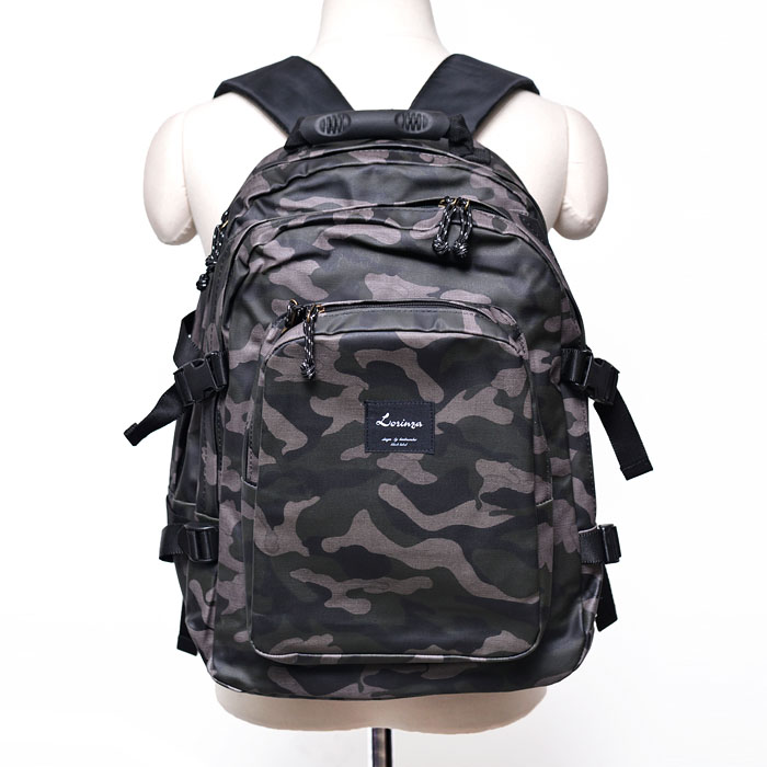 3 Compartments Camouflage Backpack-Bag 182