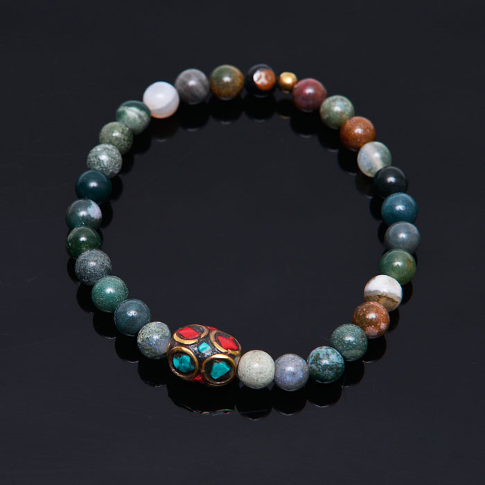 Exotic Quartz Beads-Bracelet 300