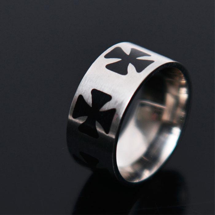 Gothic Cross Ring-Ring 55