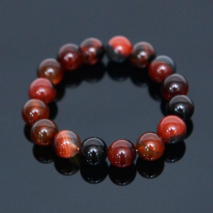 Big Agate Gemstone Beads-Bracelet 379