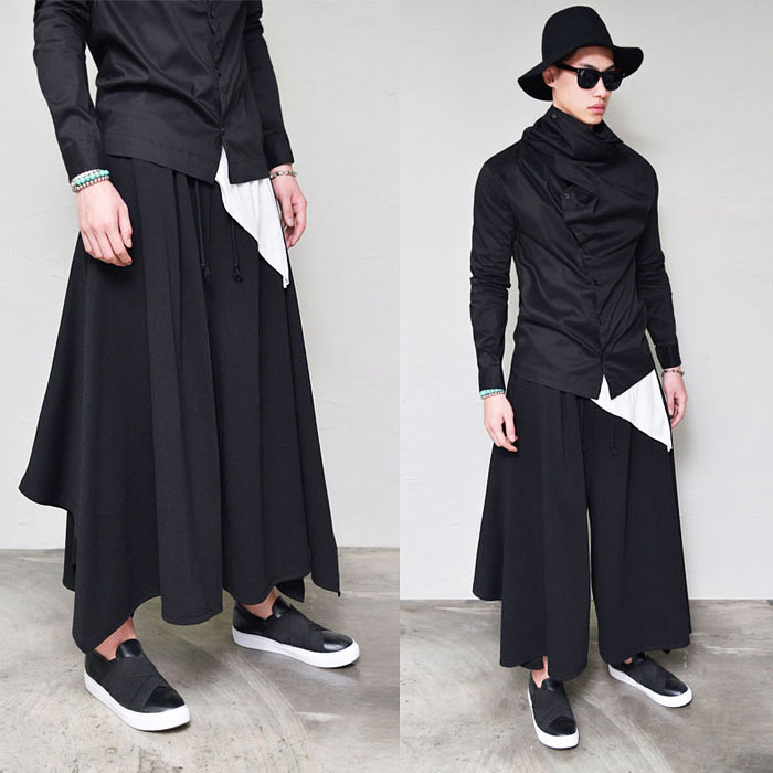 Avant-garde Ultra Wide Cut-Pants 251