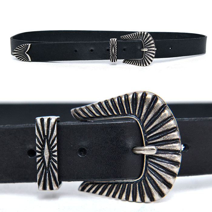 Edgy Engraved Unisex-Belt 157