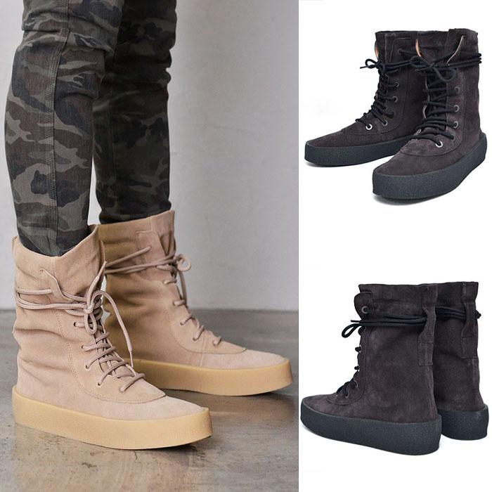 Premium Suede Desert Boots-Shoes 591
