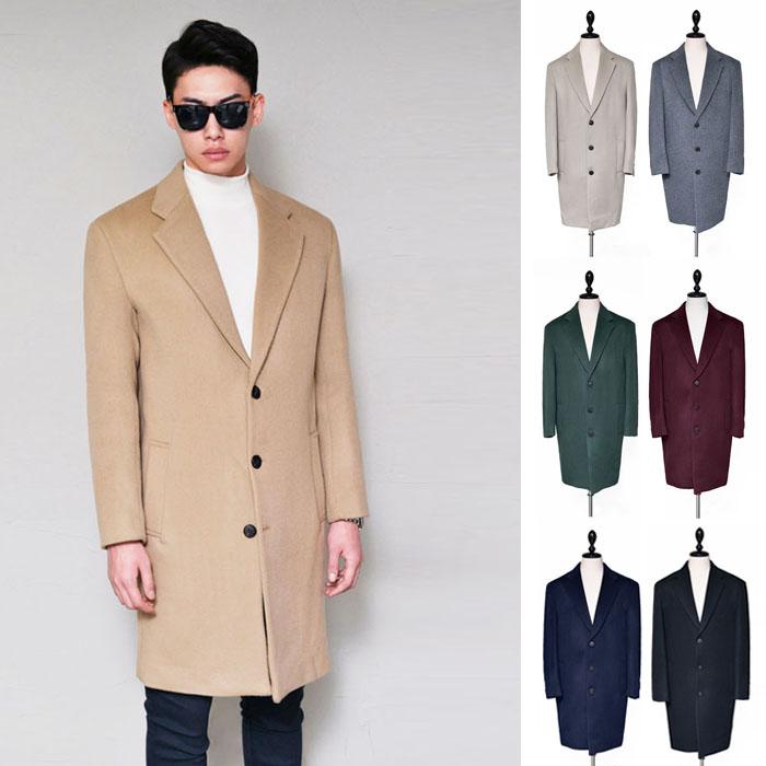 Premium Wool Cashmere Single-Coat 122