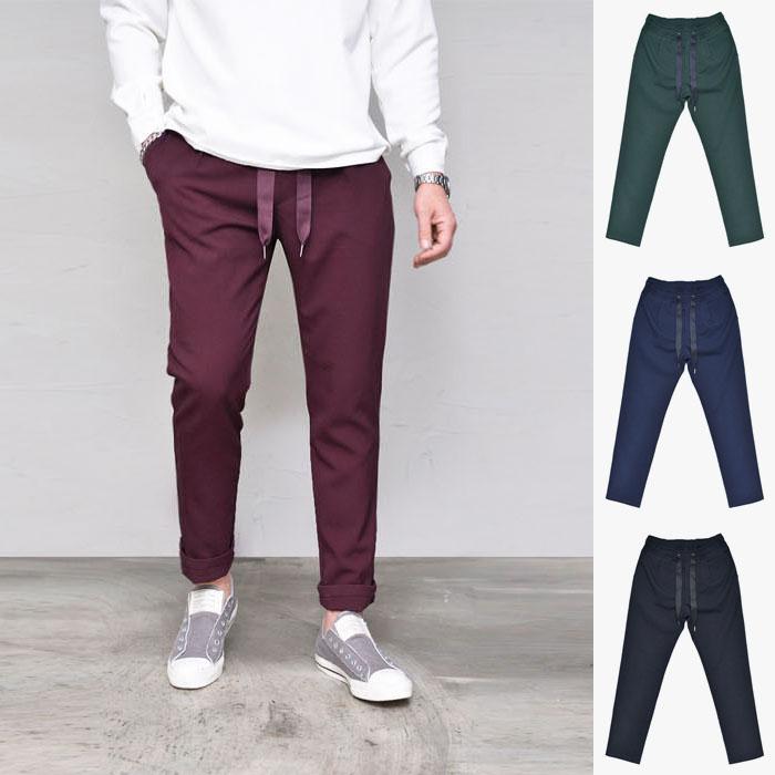 Designer S/S Banding Slacks-Pants 269