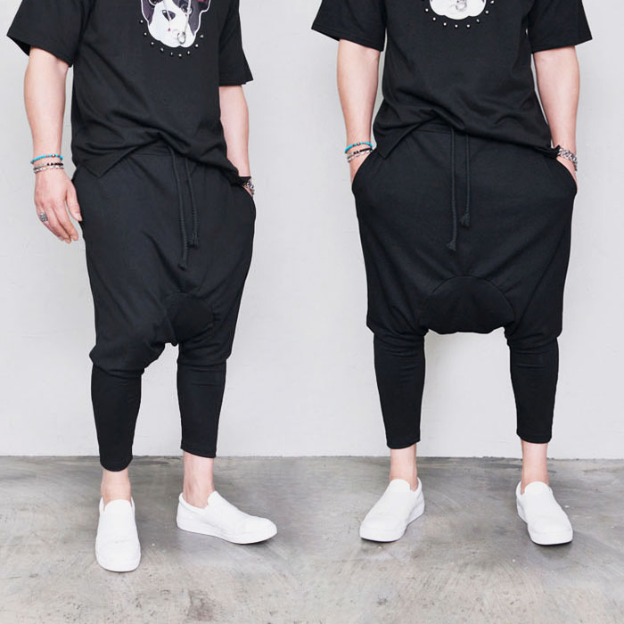 Smooth & Stretchy Drop Baggy-Pants 298