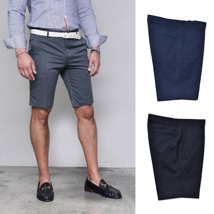 Dressy Urban Slim Slacks-Shorts 152