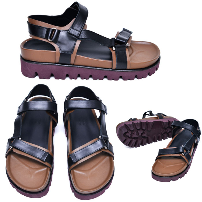 5.5cm Height Increasing Leather Sandal-Shoes 651