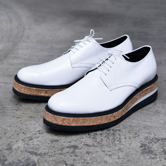 5cm Monster Heel White Creeper-Shoes 653