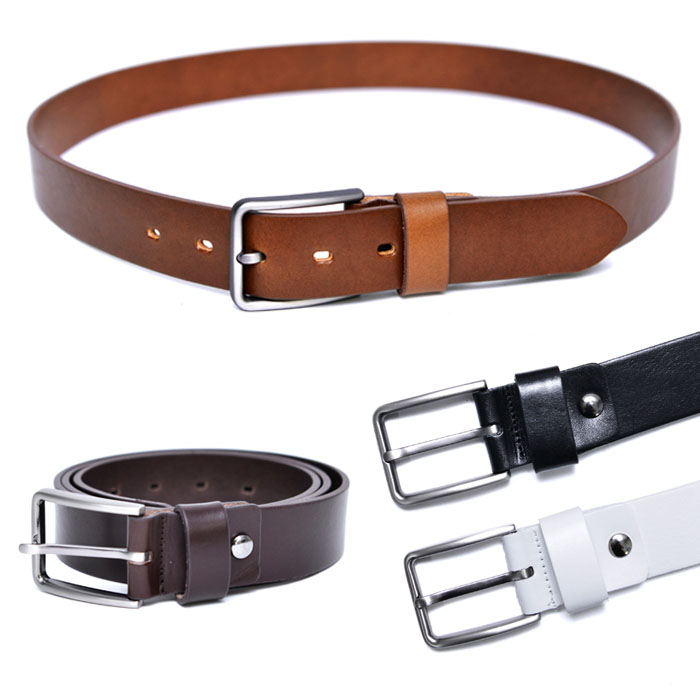 Sleek & Modern Simple Leather-Belt 176