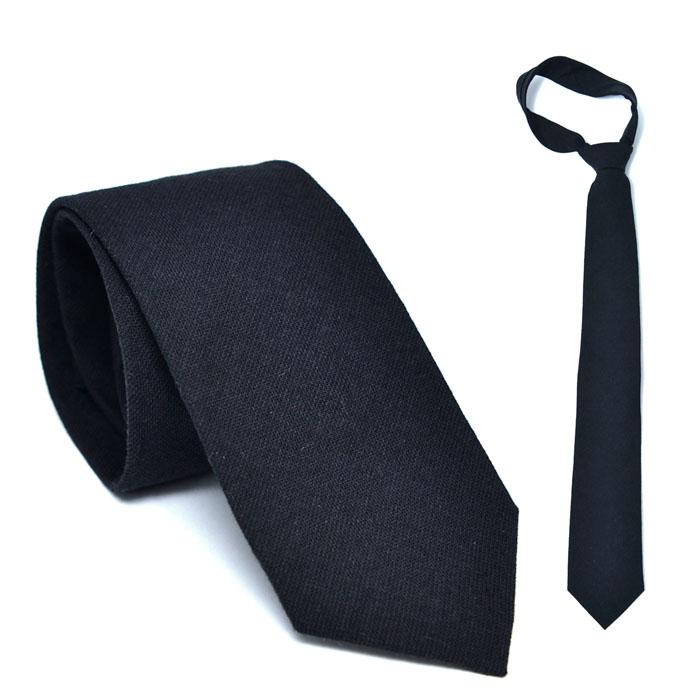 Classic Wool Black-Tie 58
