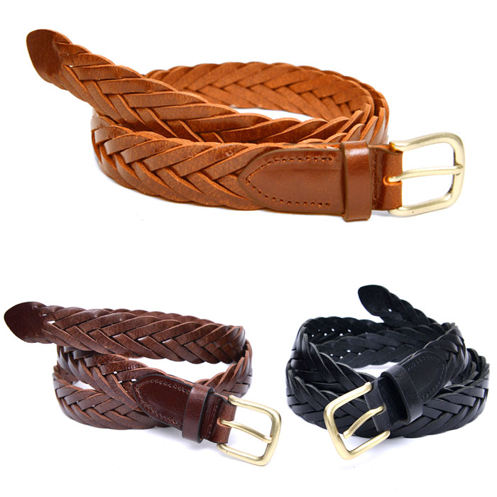 Timeless Leather Mesh-Belt 179