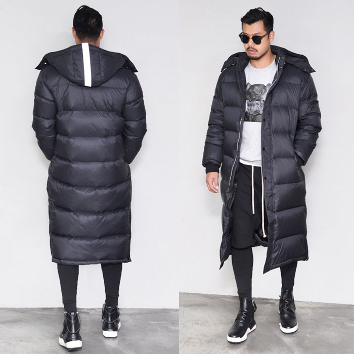 Long Duck Down Padding-Parka 83