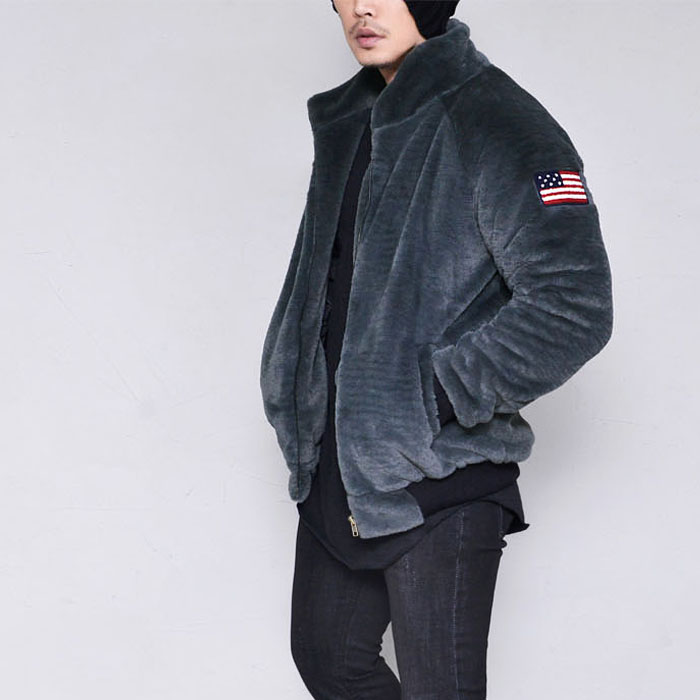 Rich Mink Fur Zipup-Jacket 334