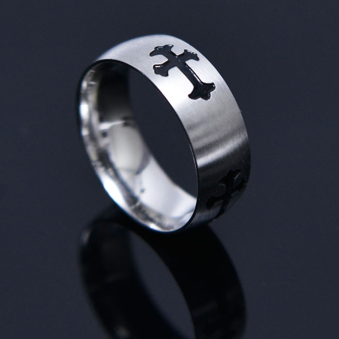Baroque Cross Ring-Ring 85